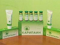 Cerere Karipain de droguri în tratamentul herniei intervertebrale