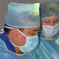 remoção do pólipo nasal cirurgicamente
