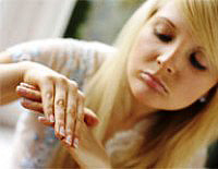 do not let your nails offense or can not be treated for the fungus
