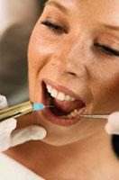 Зуб за пуњење и пуњење материјала