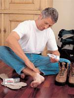 Wskazówki co robić gdy stopy pocą