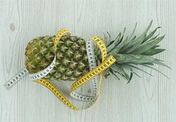 Banan, grapefrukt og ananas diett