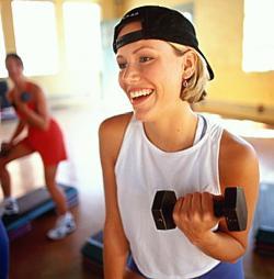 Intense oefening, in combinatie met een dieet waarschijnlijk een goede werking