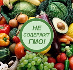 "Product labeling ""does not contain GMOs"" it means that the product has been tested and the government of Moscow does not contain transgenes"