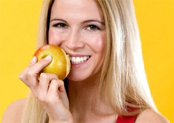 Much more useful to eat a whole apple or carrot than the same pre-mashed gifts of nature. Hard foods naturally cleans teeth, allowing them to stay longer healthy.