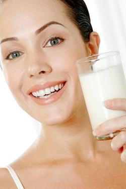 Duża zawartość wapnia w produktach mlecznych