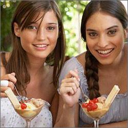 Nach der Diät Veredelung, nicht essen alle lecker - wird erneut ein, das verlorene Gewicht