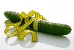 Dieta, warzywa, ogórek diety, ogórek, odchudzania