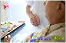 хигиена на пациента, хранене на пациента, легло на пациент в леглото, къпане на пациент, пациент в леглото, рани от рани, профилактика на рани, кърмене, пациенти в леглото