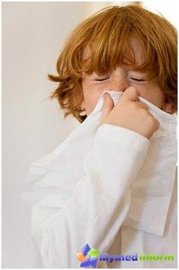 Alergie la polen la un copil