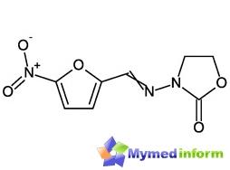 الصيغة الكيميائية Furazolidone
