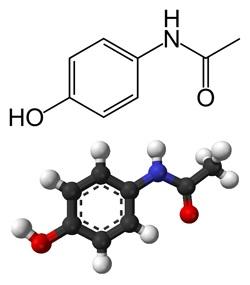 جزيء الأسيتامينوفين