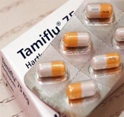 الفيروس والانفلونزا والمناعة، تاميفلو