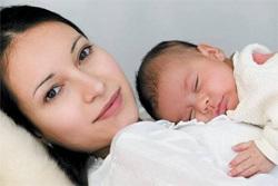 أمي مع الطفل