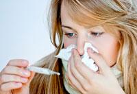 So heilen Sie die Grippe