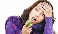 Behandlung von eitrigen Halsschmerzen