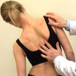 scoliosis posture spoils and twists the spine