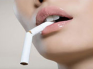 attention of smoking women
