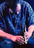إدمان الكحول ليس عادة، ولكن المرض