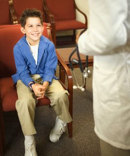 supervision of a physician with heart defects