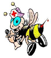 Behandlung mit Bienengift