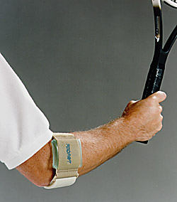 Tennis elbow: unexpected discovery