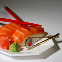 what do you get tasting sushi