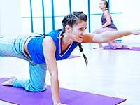 Eine Reihe von Übungen zur Vorbeugung von Arthrose des Kniegelenks