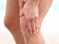 knee joint osteoarthritis symptoms and stage of disease