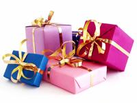 Ajándékok az új évre