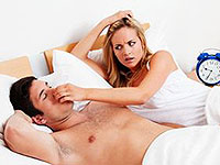 10 minutes and you are on all night to stop snoring