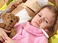 Serous viral meningitis in children