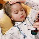 children's whooping cough and mask