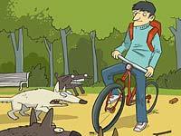 Radfahrer-Hundeschutz – Furchtlosigkeit und das Fahrrad