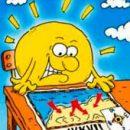 the solar kick heavy hand caressing sun