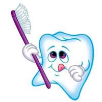 Variants of caries teeth