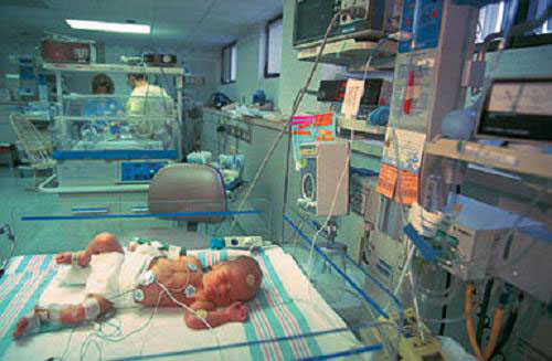 Operation with congenital heart defects