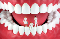 Diagnose durch Zähne