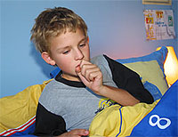 Bronchitis from your child