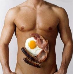 Сексуалната сила на мъжете непрекъснато се увеличава от месото