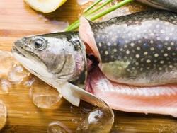 За вечеру, направите део рибе