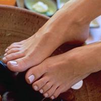 Fuß- und Fußmassagetechniken